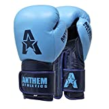 Anthem Athletics STORMBRINGER II Leather Boxing Gloves - Muay Thai, Kickboxing, Striking - Typhoon Navy - 16 oz.