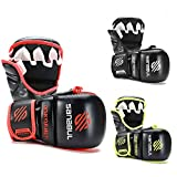 New Item Sanabul Essential 7 oz MMA Hybrid Sparring Gloves (Black/Red, Large/X-Large)