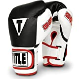 TITLE Gel World Bag Gloves, Black, Large