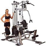 Body-Solid Powerline P2LPX Home Gym Equipment with Leg Press, Grey/Black