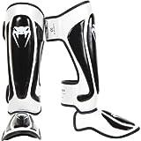 Venum Predator Standup Shinguards, Black/White, Large