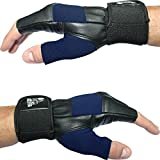 """Nordic Lifting - Weight Lifting Gloves With 12"""" Wrist Support For Gym Workout, Weightlifting, Fitness and Cross Training - Best For Men & Women - (Royal Blue,Medium)"""