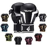 2021 Pro Boxing Gloves for Men Women & Kids, Boxing Training Gloves, Kickboxing Gloves, Sparring Gloves, Heavy Bag Gloves for Boxing, Kickboxing, Muay Thai, MMA (White 4 Oz)