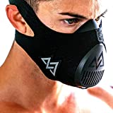 TRAININGMASK Training Mask 3.0   Gym Workout Mask – for Cardio, Running, Endurance and Breathing Performance [Official Training Mask Used by The Pros] (Black, Medium)