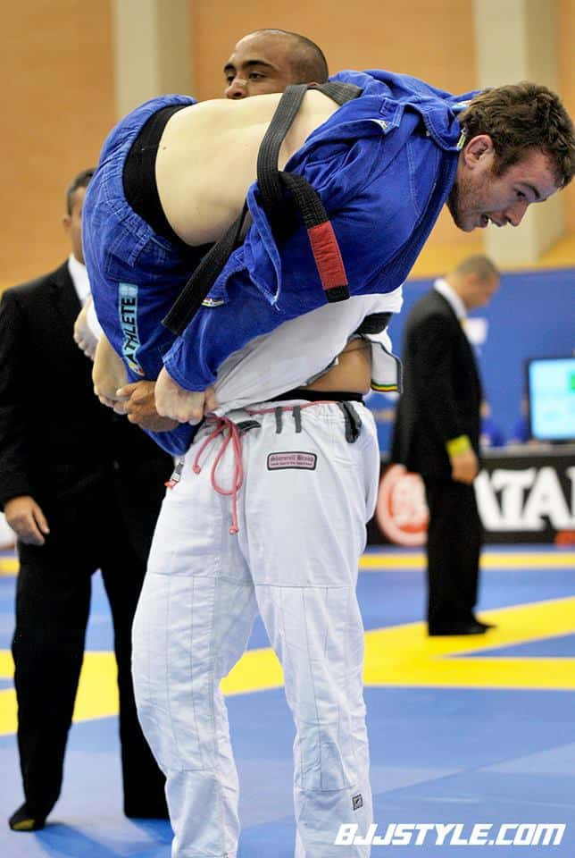 Oli at the European championships