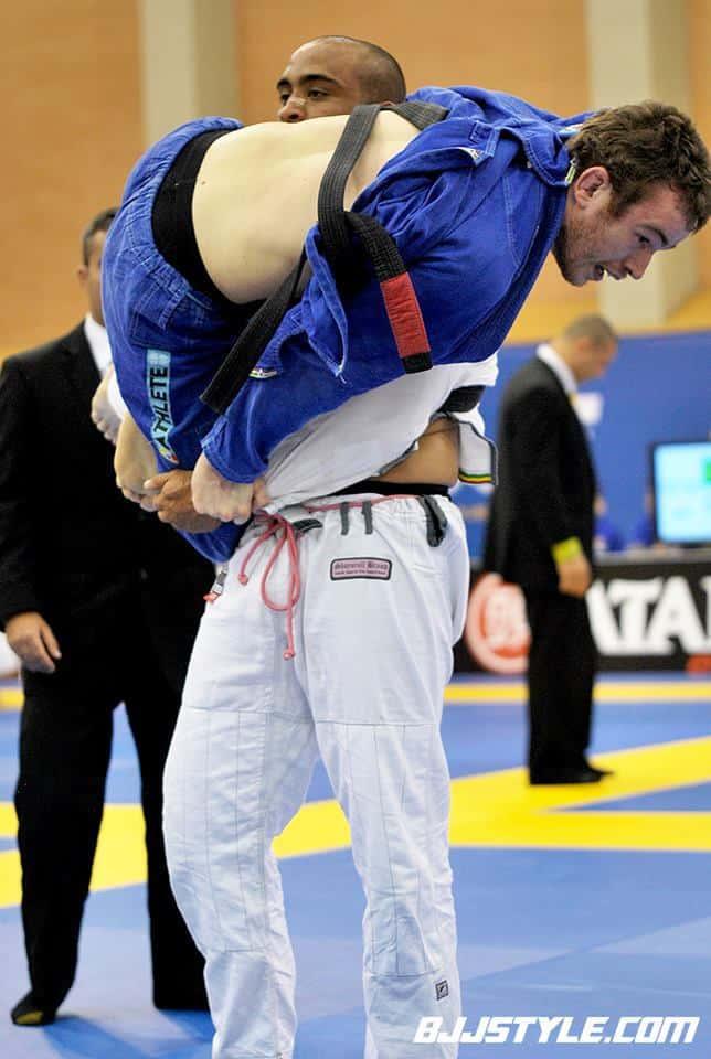 Oli at the European championships