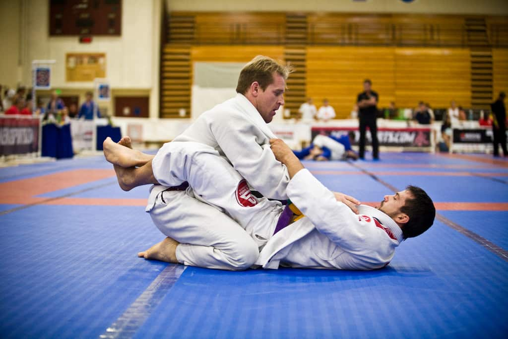 How to pull guard for your first bjj competition