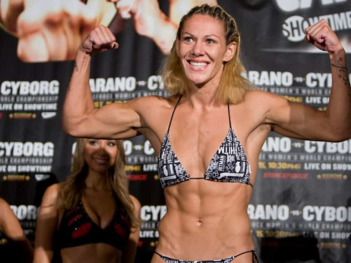 """Cristiane """"Cyborg"""" Santos' not happy about Rousey getting a title shot in December."""
