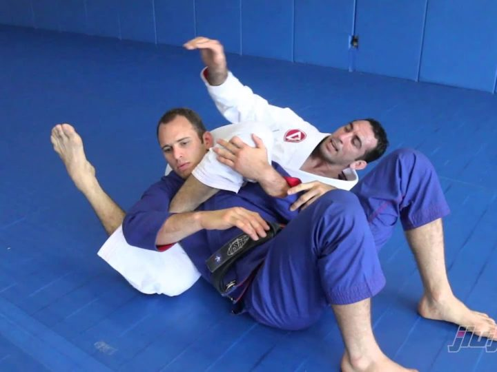 The Triangle Choke – As Taught By Braulio Estima