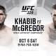 BREAKING – Khabib Nurmagomedov faces Conor McGregor at UFC 229