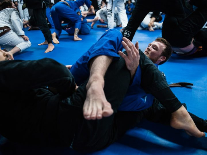 The Rolling Back Take and Collar Choke