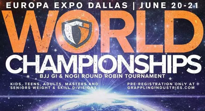 Grappling Industries' World Championship features FREE Entry for Every competitor