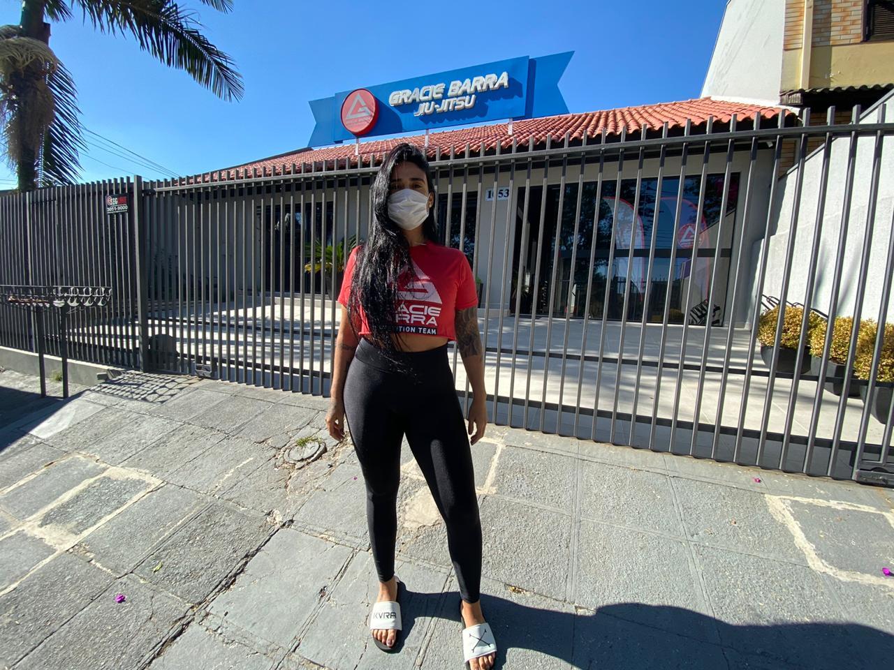 Gracie Barra Praná teacher Nika Schwinden talks about Gym opening