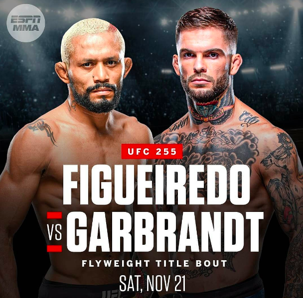 Figueiredo Vs Garbrandt Announced For UFC Attack The Back