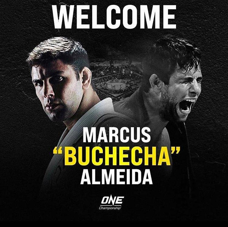 Marcus Buchecha Signs for ONE Championship