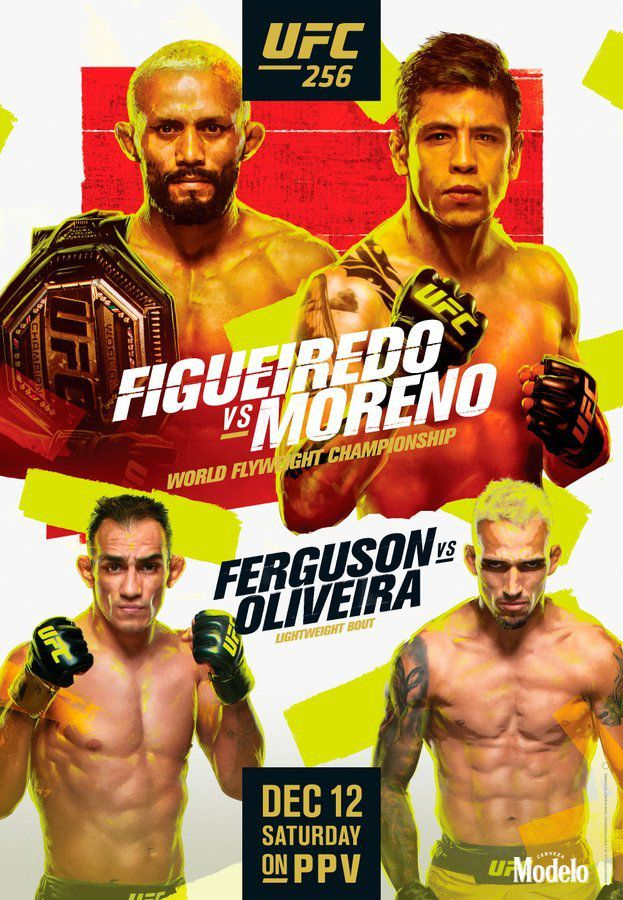 UFC 256 – Figueiredo vs Moreno – Results