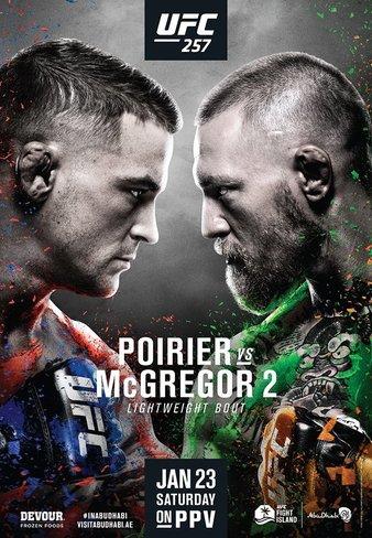 UFC 257: McGregor vs Poirier – Results