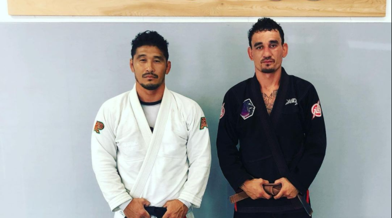 Max Holloway promoted to Brown Belt in BJJ