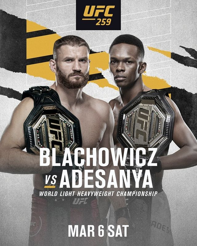 Attack the Breakdown: UFC 259 – Blachowicz vs Adesanya