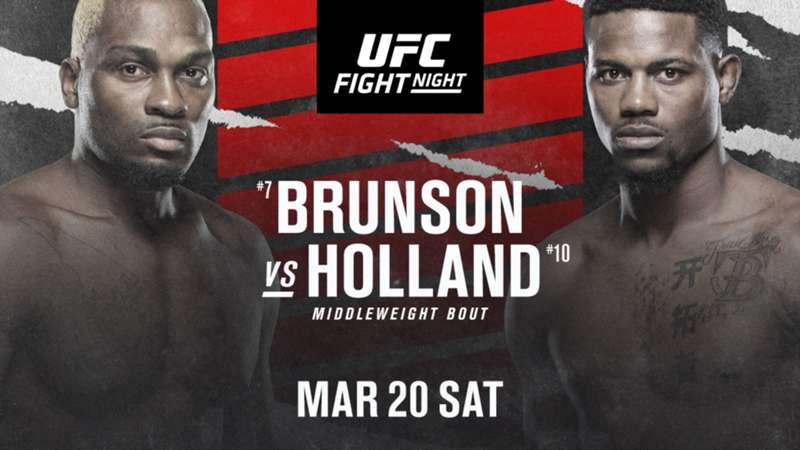 UFC Fight Night Brunson vs Holland Preview